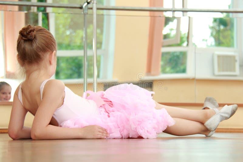 Bailarina bonita imagem de stock