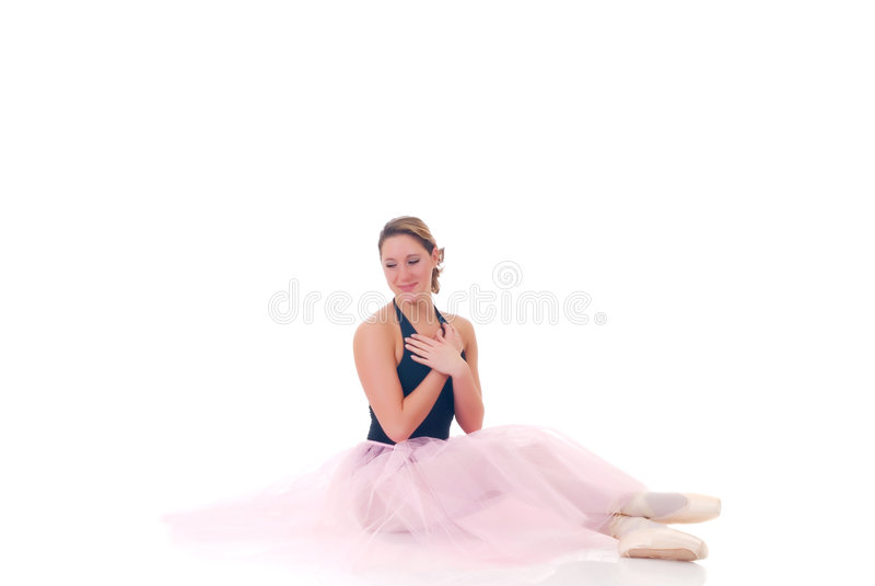 Bailarina bonita fotos de stock