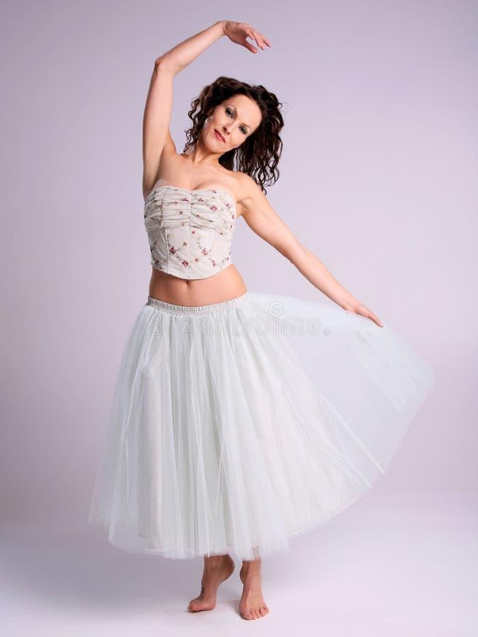 Bailarina bonita foto de stock royalty free