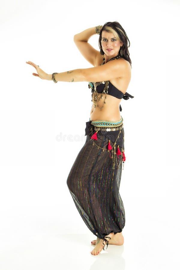 Bailarina de la danza del vientre imágenes de archivo libres de regalías