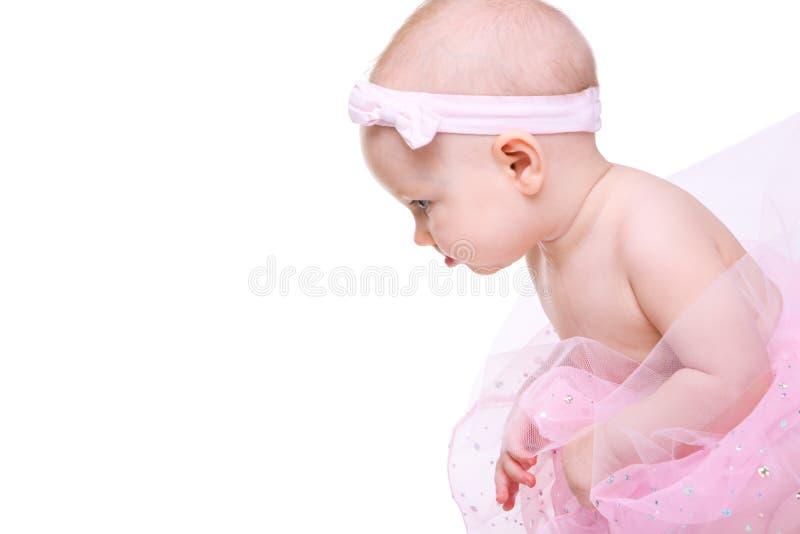 Bailarina del bebé fotografía de archivo libre de regalías