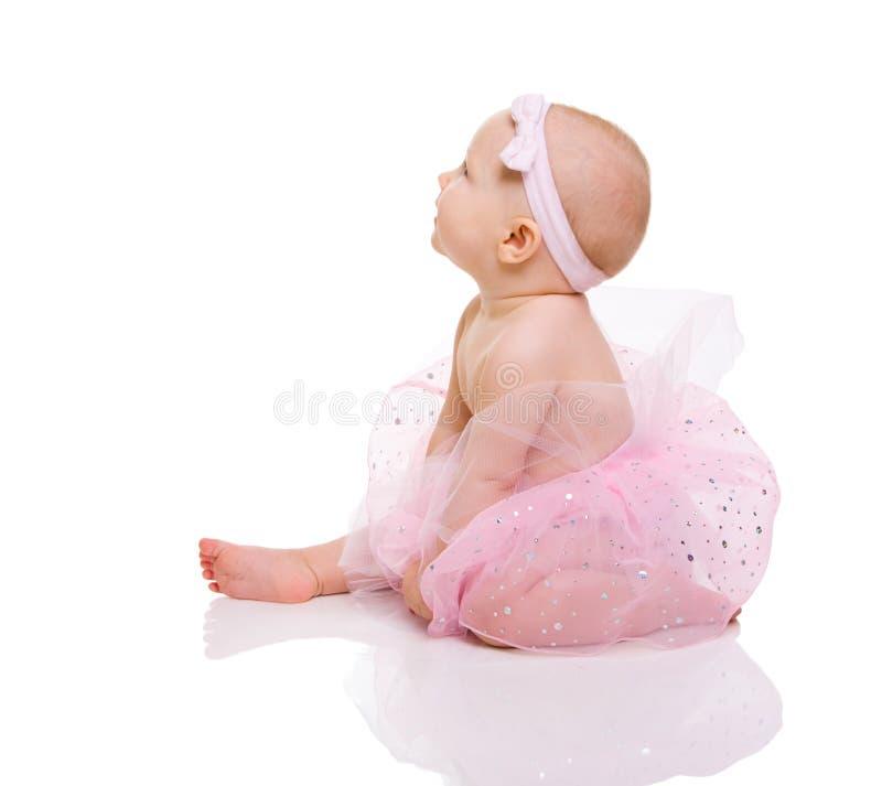 Bailarina do bebê fotos de stock