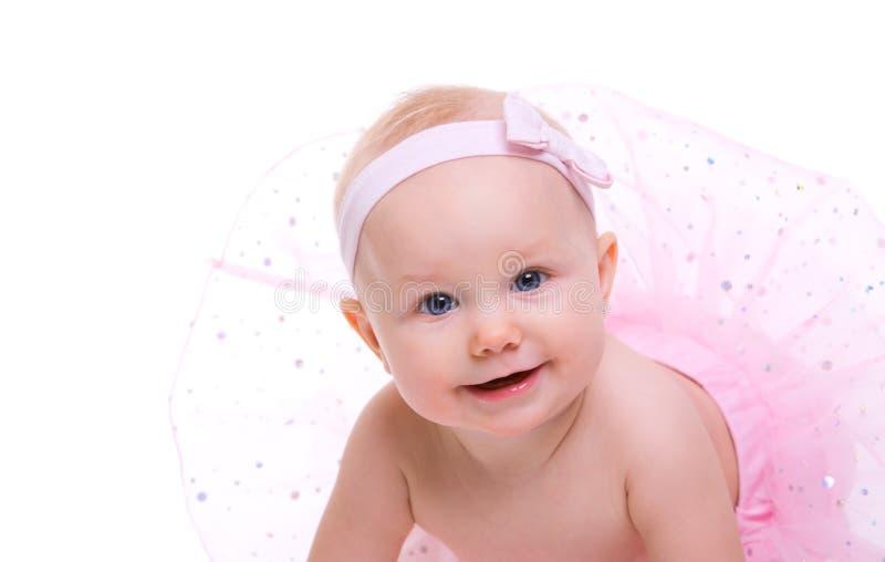 Bailarina do bebê fotografia de stock