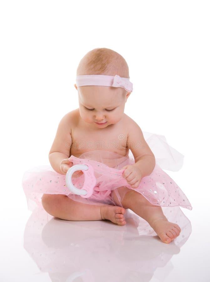 Bailarina do bebê imagens de stock royalty free