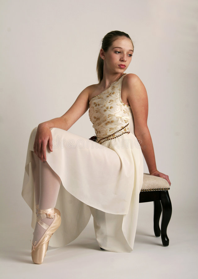 Bailarina em repouso foto de stock royalty free