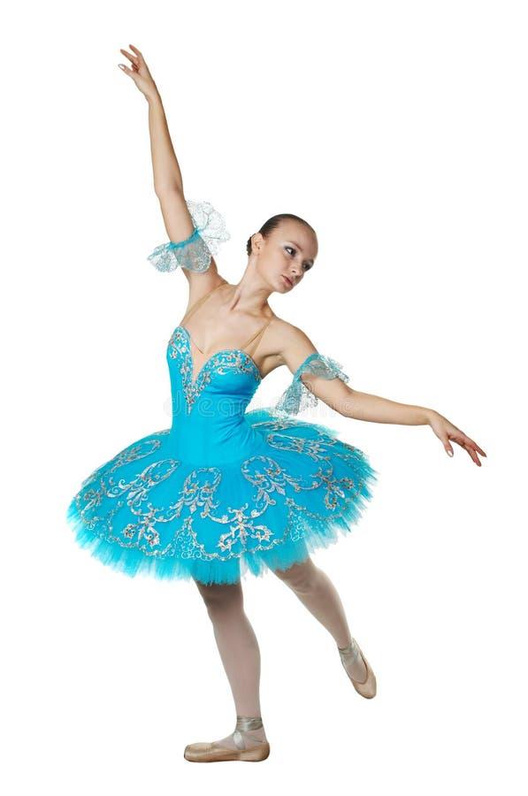 Bailarina em um pose imagem de stock royalty free