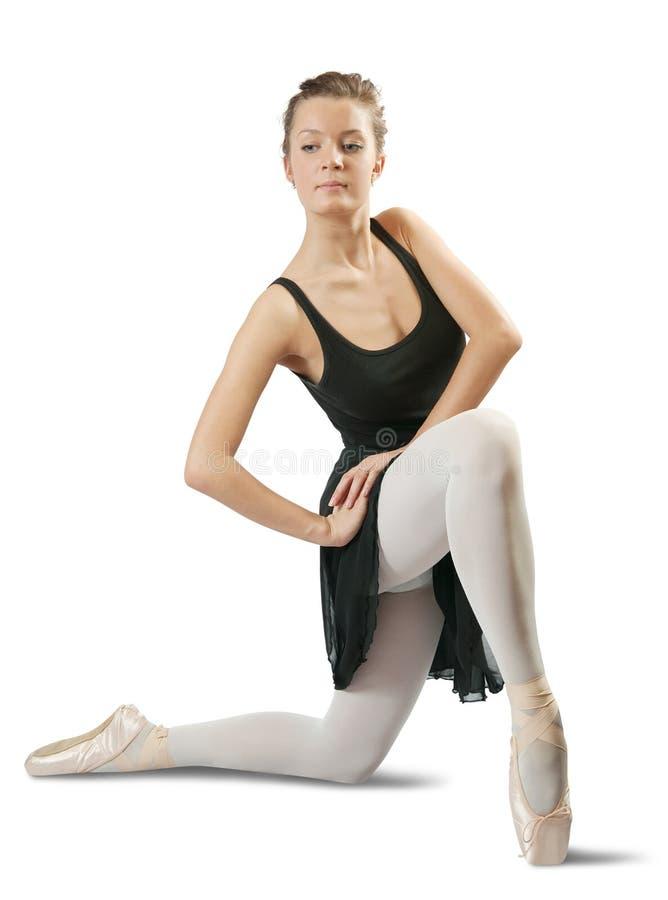Bailarina fêmea foto de stock