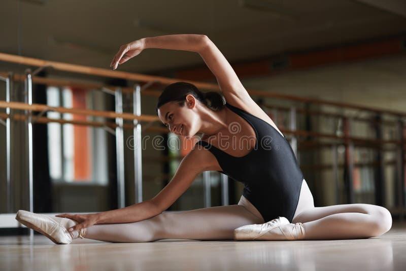 Bailarina feliz imagenes de archivo
