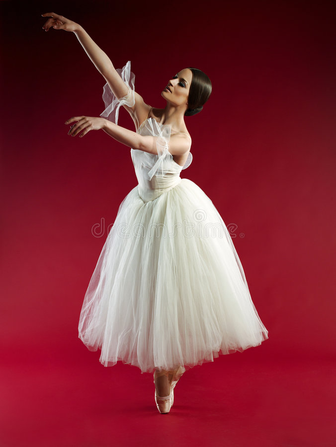 Bailarina hermosa fotografía de archivo libre de regalías