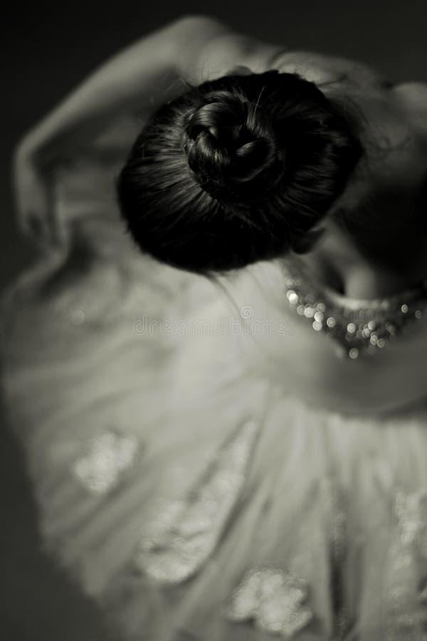 Bailarina indeterminada fotos de archivo