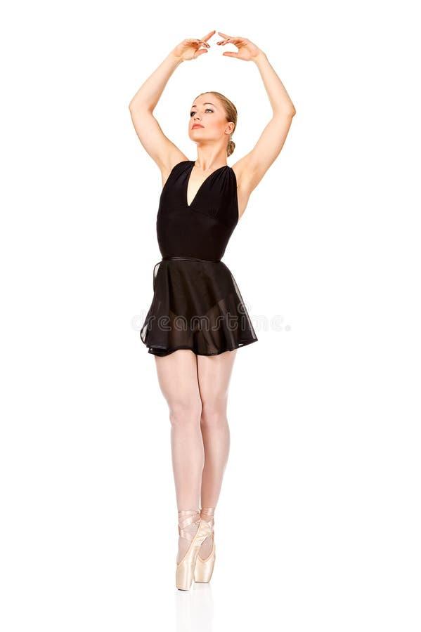 A bailarina maravilhosa nova está dançando graciosa imagens de stock royalty free