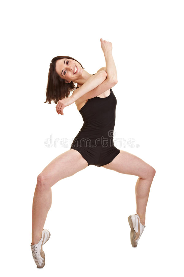 Bailarina na ponta do pé imagem de stock