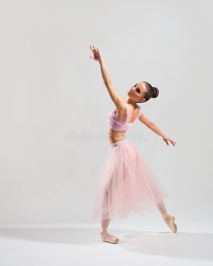 Bailarina na versão cinzenta imagem de stock