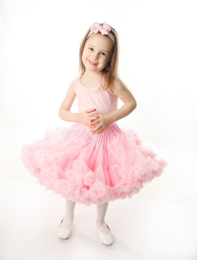 Bailarina pré-escolar bonita fotos de stock