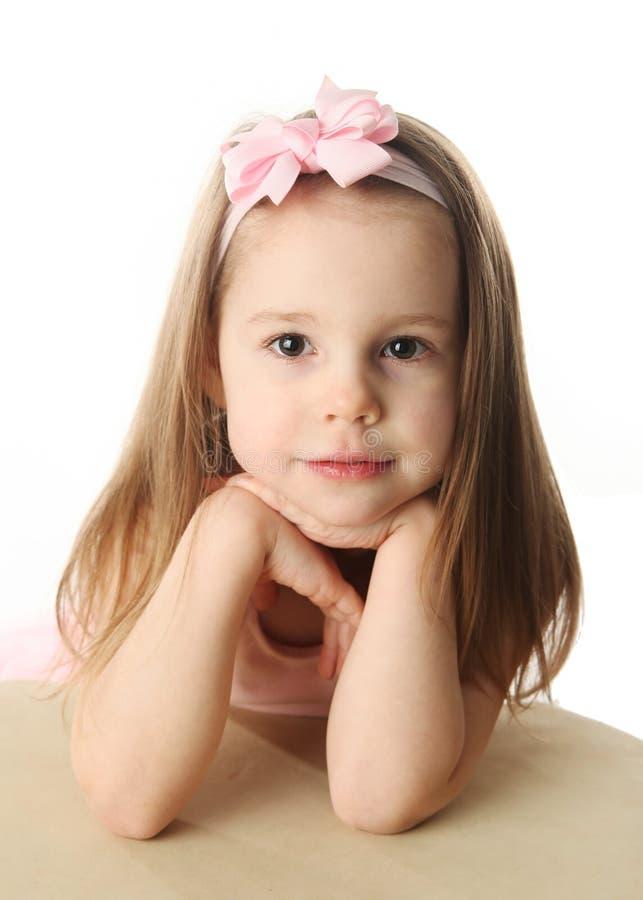 Bailarina preescolar bonita imágenes de archivo libres de regalías