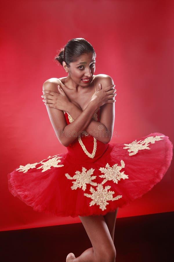 Bailarina resistente fotografía de archivo
