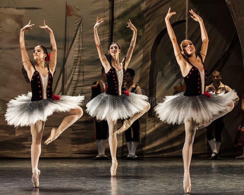 Bailarines foto de archivo