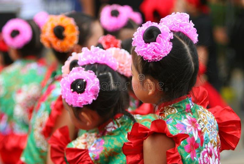 Bailarines chinos imágenes de archivo libres de regalías