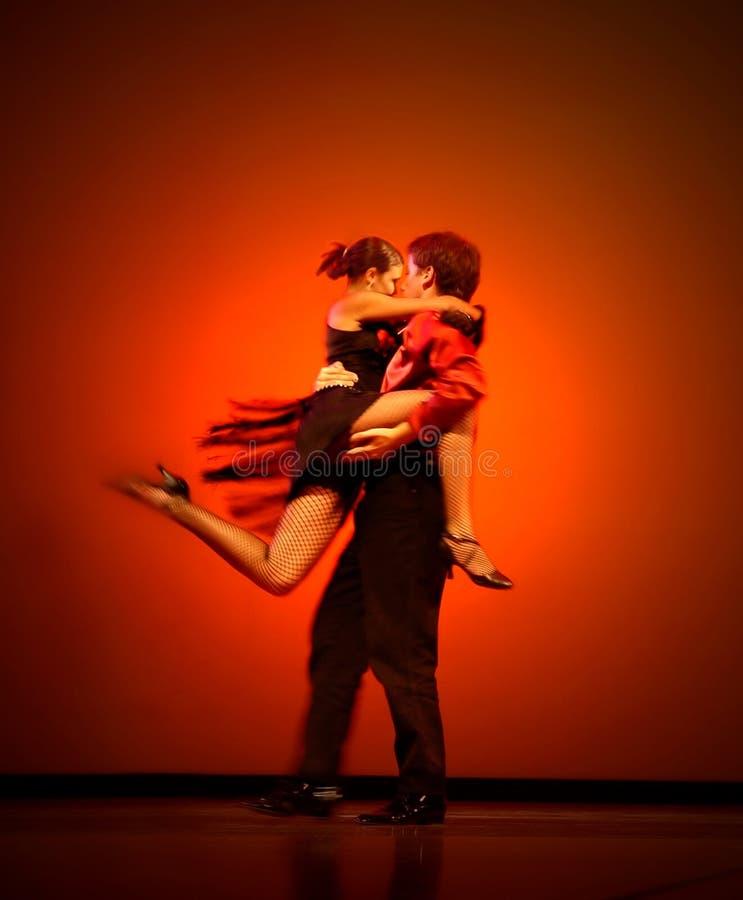 Bailarines clásicos fotos de archivo