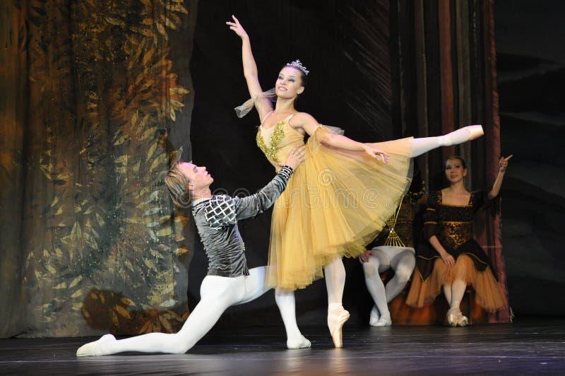 Bailarines de ballet fotografía de archivo libre de regalías