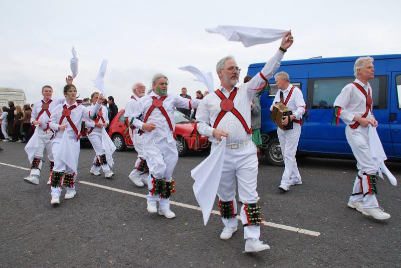 Bailarines de Morris, Hastings imágenes de archivo libres de regalías