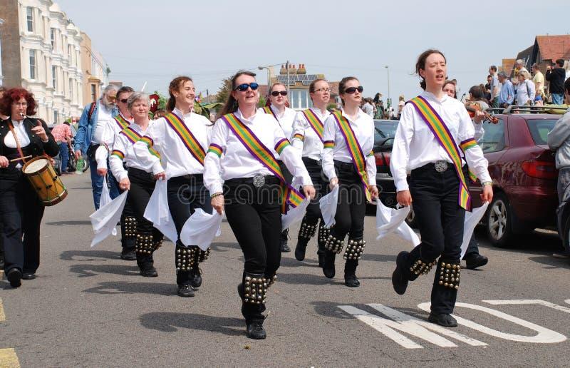 Bailarines de Morris, Hastings imagen de archivo