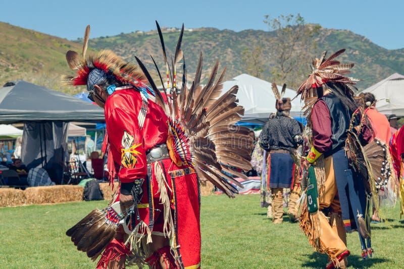 Bailarines del Powwow fotos de archivo libres de regalías
