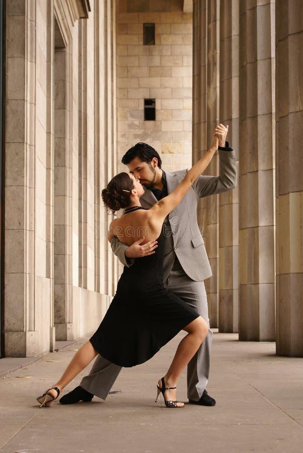 Bailarines del tango fotos de archivo libres de regalías