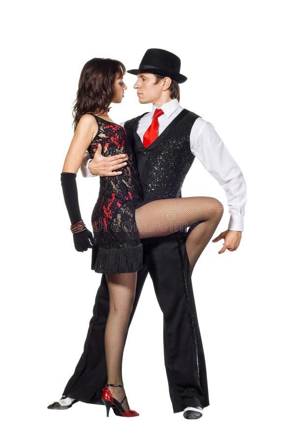 Bailarines del tango de la elegancia fotografía de archivo