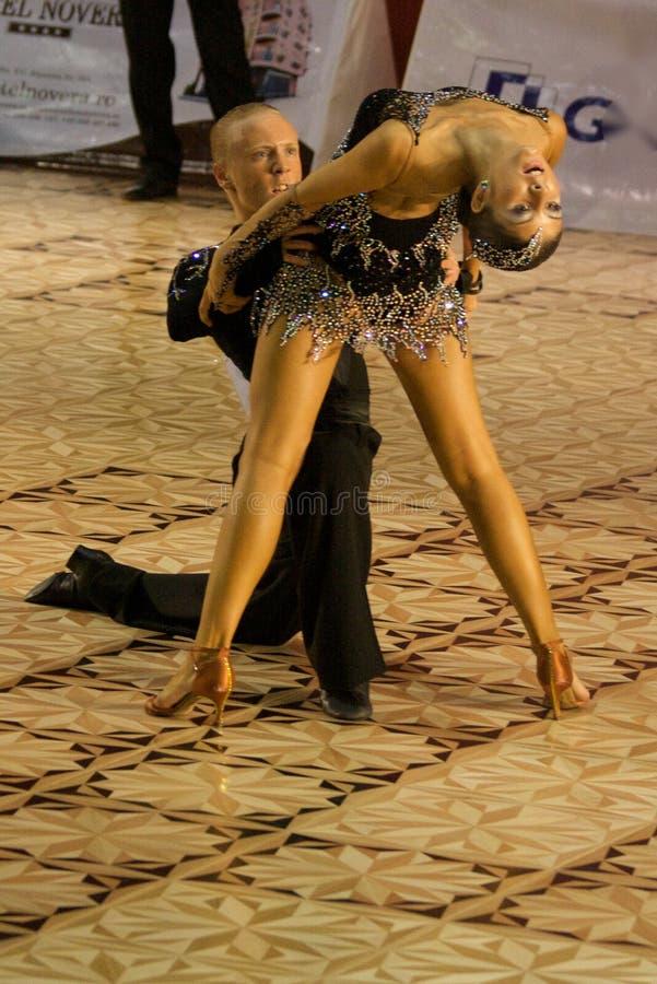 Bailarines latinos #1 foto de archivo