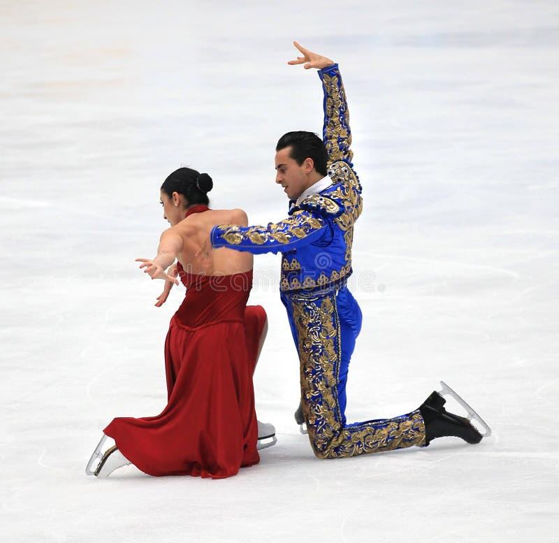 Baile de hielo imagen de archivo libre de regalías