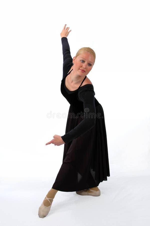 Baile de la bailarina fotos de archivo libres de regalías