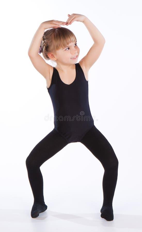 Baile de la niña foto de archivo libre de regalías