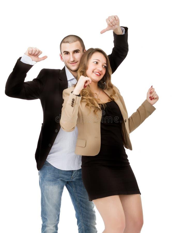Baile de los pares imagen de archivo libre de regalías