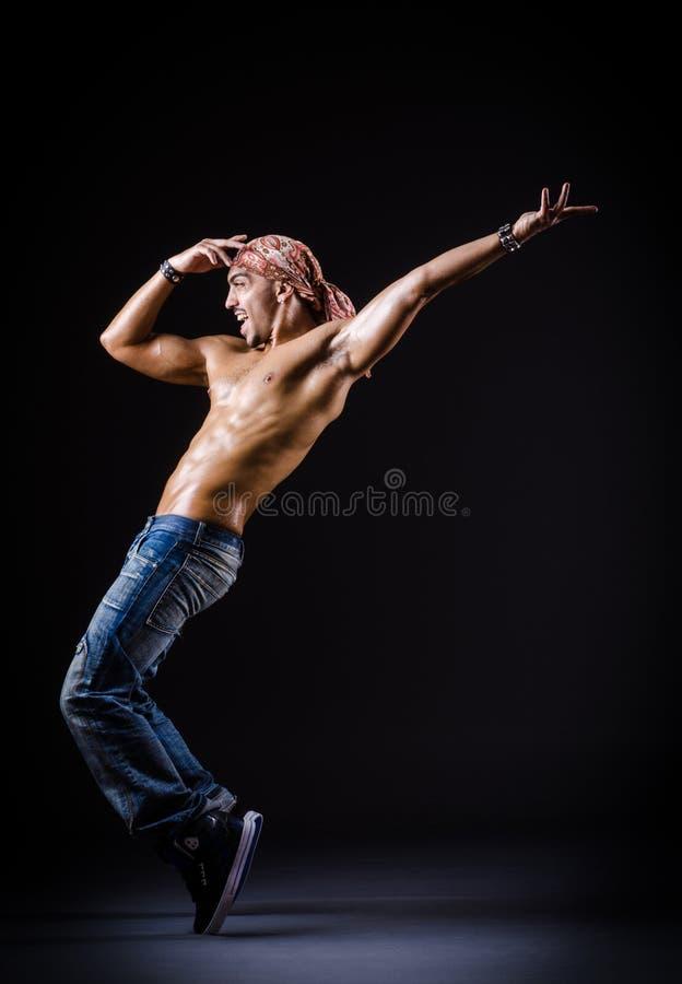 Baile Del Bailarín Imagen de archivo