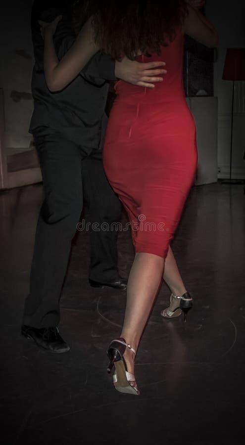 Baile del tango imágenes de archivo libres de regalías