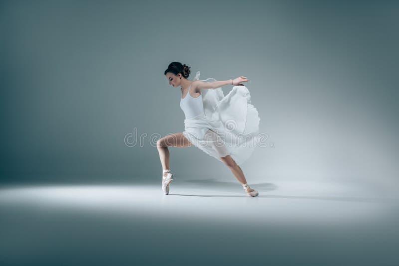 baile elegante de la bailarina fotos de archivo libres de regalías