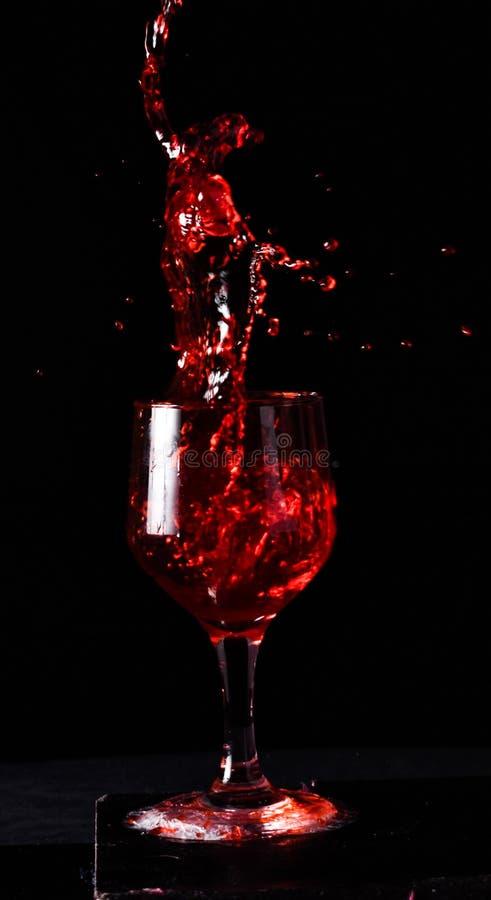 Baile en el vino imagen de archivo