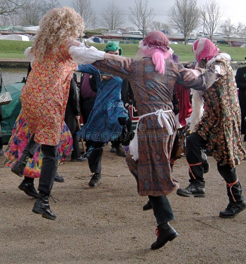 Baile Para La Alegría Fotografía de archivo