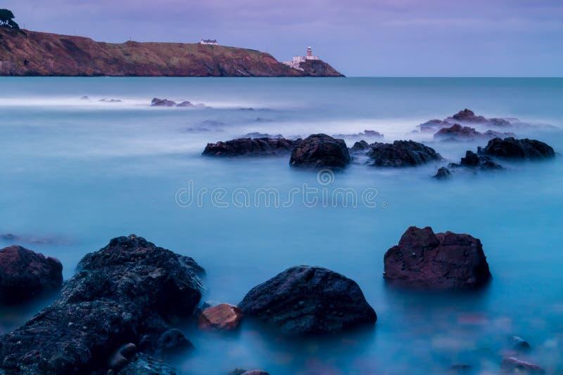 Bailey lighthouse, Dublin royalty free stock image