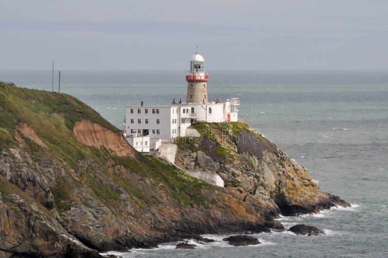Bailey Lighthouse, Howth, Dublín, Irlanda imagen de archivo