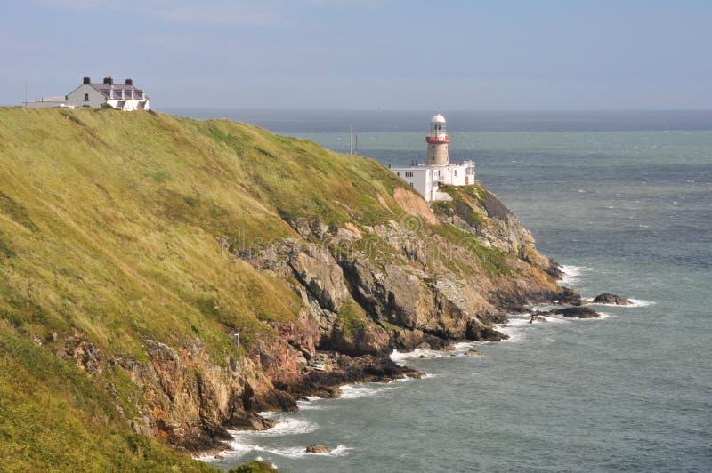 Bailey Lighthouse, Howth, Dublin, Irlande photo stock