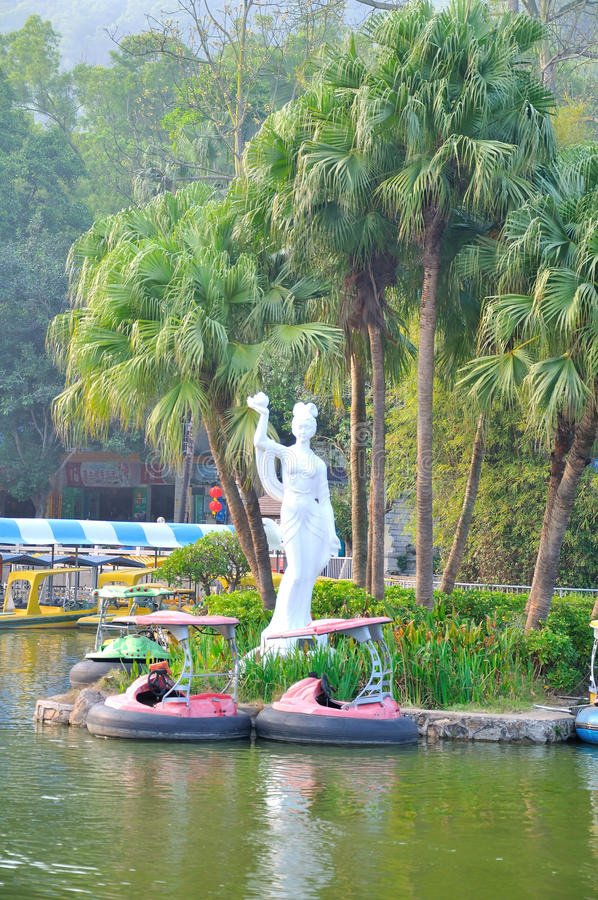 BaiLiandong park scenery stock image