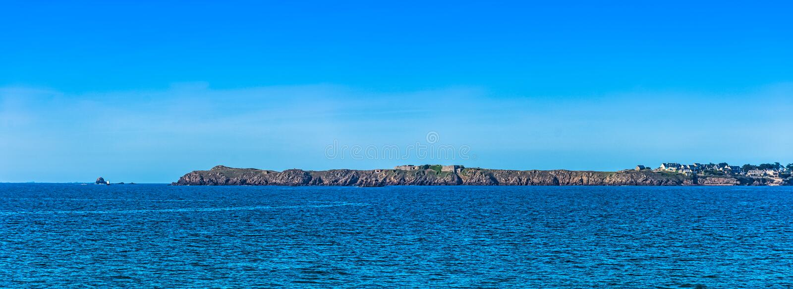 Bailiwick of Jersey known as Isle of Jersey - British island on French coast stock photos