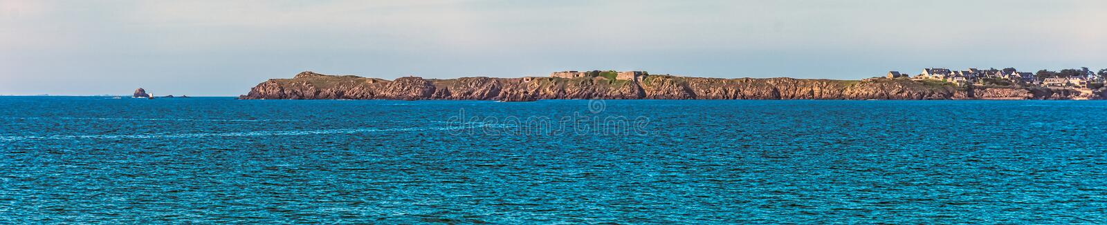 Bailiwick of Jersey known as Isle of Jersey - British island on French coast stock photo
