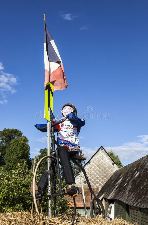 Download Mascot Of A Cyclist During Le Tour De France. Editorial Photography - Image: 30026547