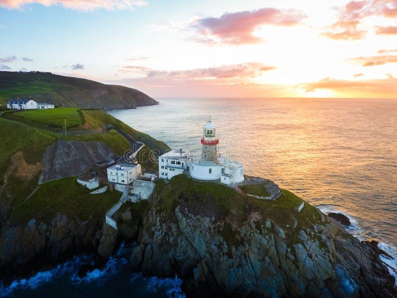 baily latarnia morska Howth Irlandia fotografia stock