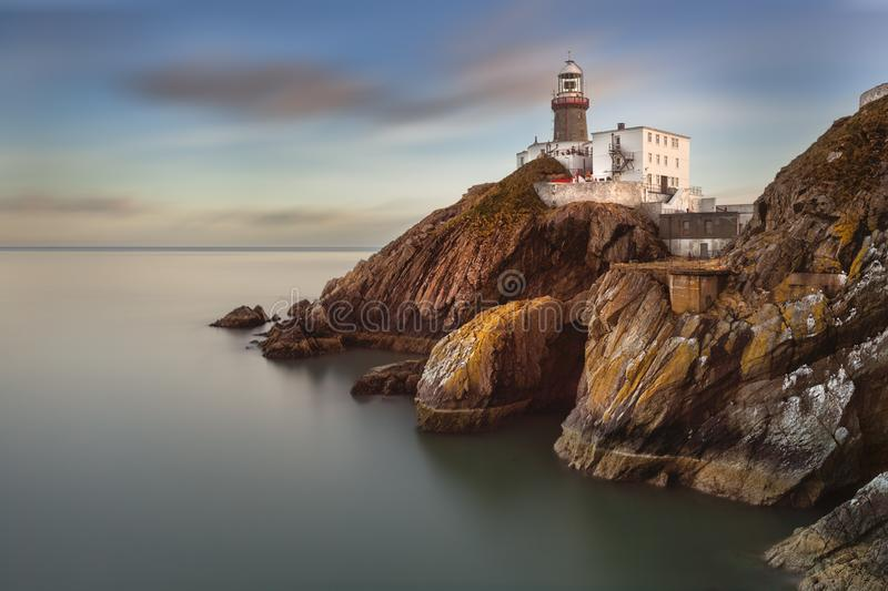 The Baily Lighthouse, Howth.Ireland Dublin royalty free stock image