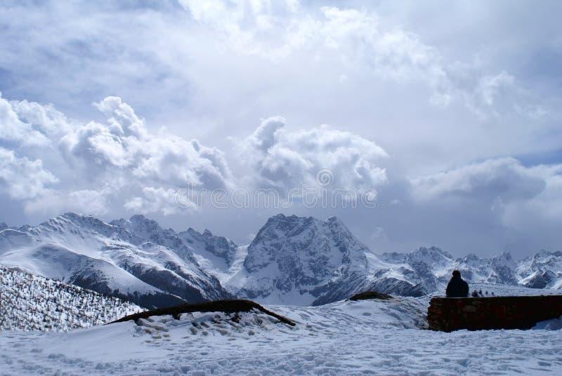 Baima Snow Mountain royalty free stock photos