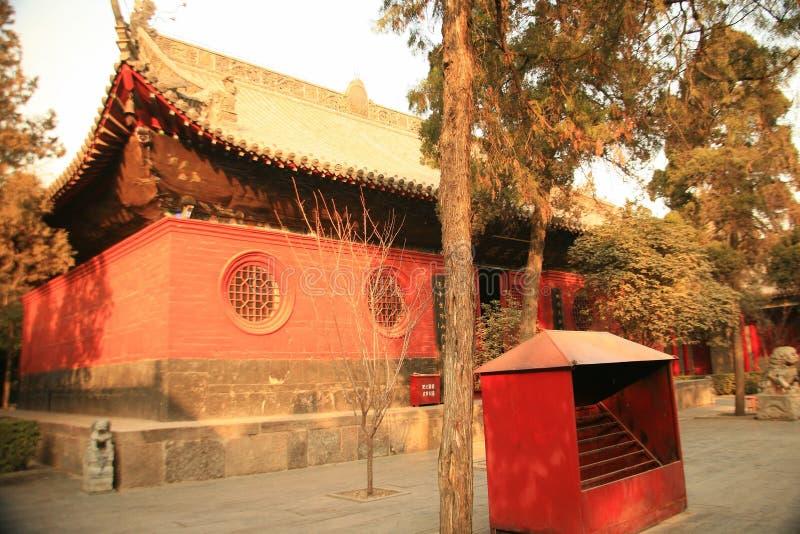 Baimatempel in Luoyang royalty-vrije stock fotografie